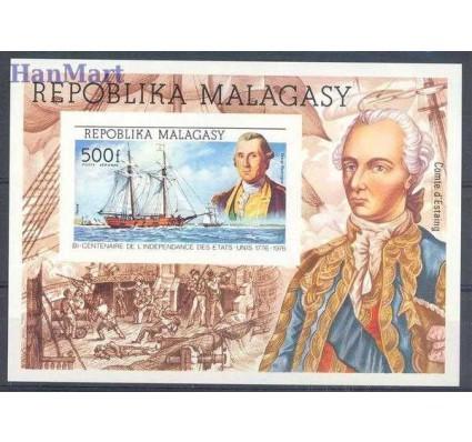Znaczek Madagaskar 1975 Mi bl 7B Czyste **