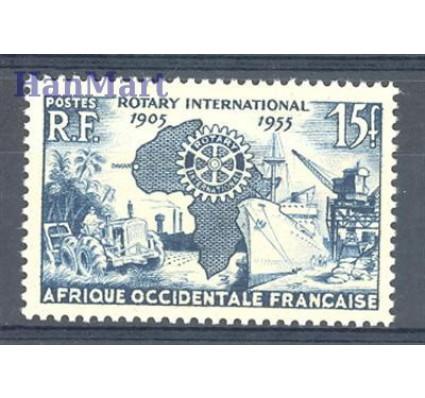 Znaczek Francuska Afryka Zachodnia 1955 Mi 73 Czyste **