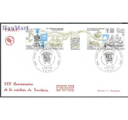 Znaczek Francuskie Terytoria Południowe i Antarktyczne 1985 Mi 206-207 FDC
