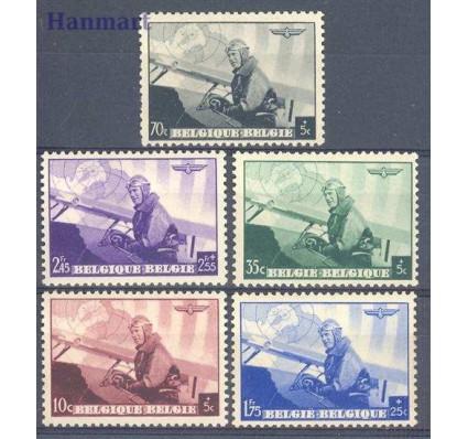 Znaczek Belgia 1938 Mi 466-470 Czyste **