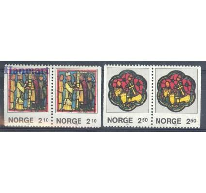 Znaczek Norwegia 1986 Mi 958-959Dr,Dl Czyste **