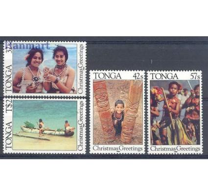 Znaczek Tonga 1986 Mi 971-974 Czyste **