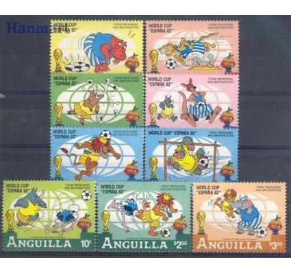 Znaczek Anguilla 1982 Mi 501-509 Czyste **