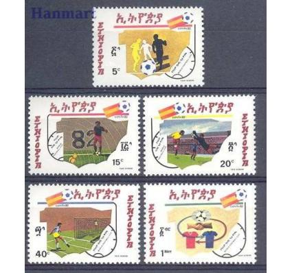 Znaczek Etiopia 1982 Mi 1124-1128 Czyste **