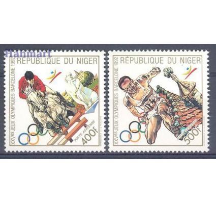 Znaczek Niger 1990 Mi 1102-1103 Czyste **