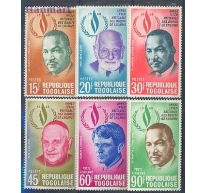 Znaczek Togo 1969 Mi 685-690 Czyste **