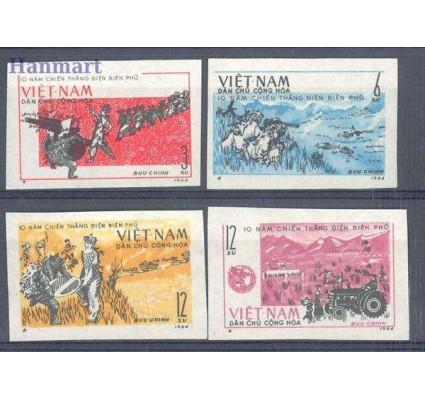 Znaczek Wietnam 1964 Mi 314-317 Czyste **