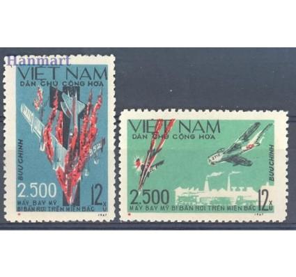 Znaczek Wietnam 1967 Mi 495-496 Czyste **