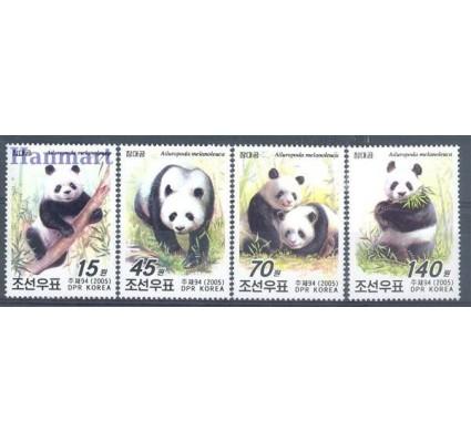 Znaczek Korea Północna 2005 Mi 4876-4879 Czyste **