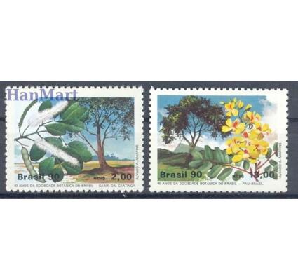 Znaczek Brazylia 1990 Mi 2340-2341 Czyste **