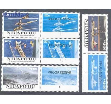 Znaczek Niuafo'ou 1986 Mi 85-88 Czyste **
