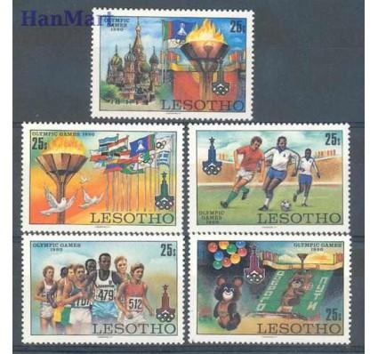 Znaczek Lesotho 1980 Mi 291-295 Czyste **