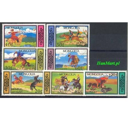 Znaczek Mongolia 1987 Mi 1844-1850 Czyste **