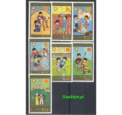 Mongolia 1987 Mi 1859-1865 Czyste **