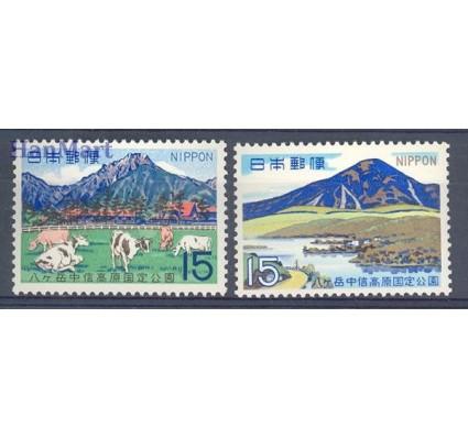 Znaczek Japonia 1968 Mi 990-991 Czyste **
