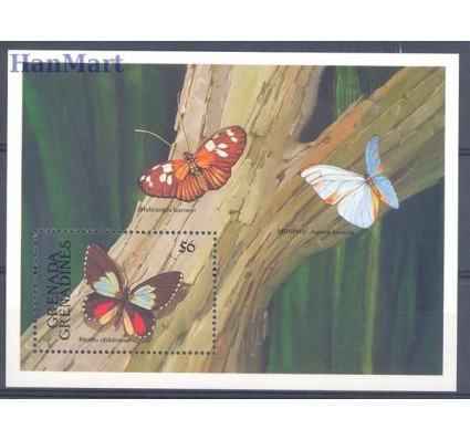Znaczek Grenada i Grenadyny 1991 Mi bl 213 Czyste **