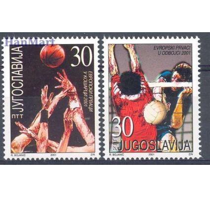 Znaczek Jugosławia 2001 Mi 3044-3045 Czyste **