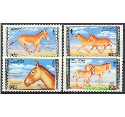 Mongolia 1988 Mi 1995-1998 Czyste **