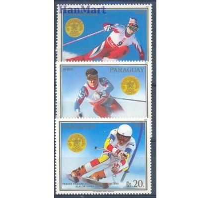 Znaczek Paragwaj 1988 Mi 4262-4264 Czyste **