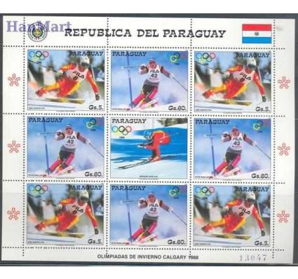 Znaczek Paragwaj 1987 Mi 4178-4179 Czyste **