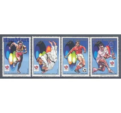 Znaczek Republika Środkowoafrykańska 1988 Mi 1336-1339 Czyste **