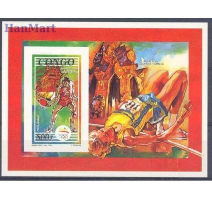 Znaczek Kongo 1992 Mi bl 108B Czyste **