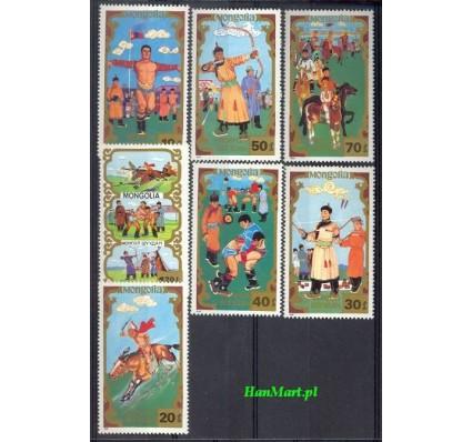 Znaczek Mongolia 1988 Mi 2007-2013 Czyste **