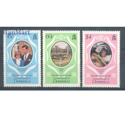 Znaczek Dominika 1981 Mi 713-715 Czyste **
