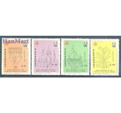 Znaczek Paragwaj 1992 Mi 4567-4570 Czyste **
