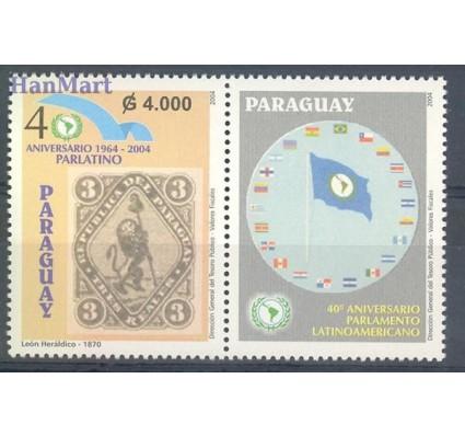 Znaczek Paragwaj 2004 Mi zf 4950 Czyste **