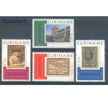 Znaczek Surinam 2003 Mi 1878-1881 Czyste **