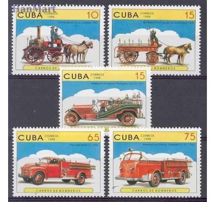 Znaczek Kuba 1998 Mi 4093-4097 Czyste **