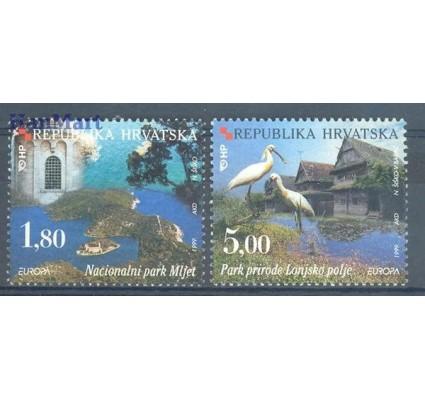 Znaczek Chorwacja 1999 Mi 498-499 Czyste **