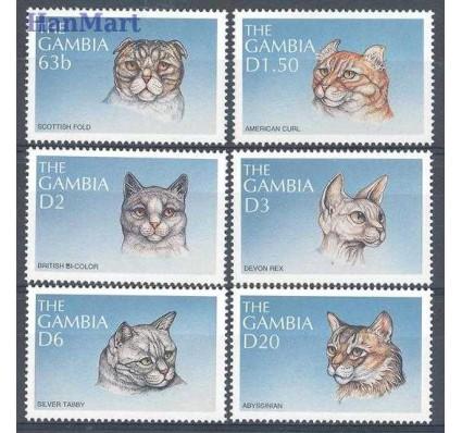 Znaczek Gambia 1997 Mi 2914-2919 Czyste **