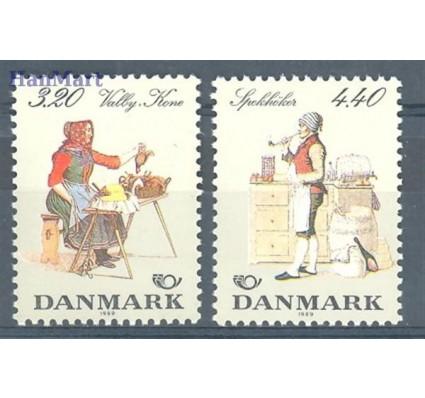 Znaczek Dania 1989 Mi 947-948 Czyste **