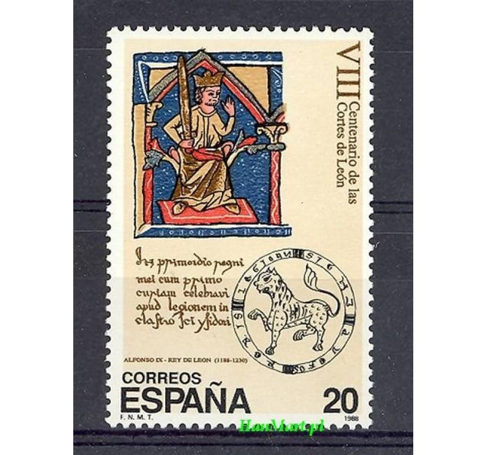 Hiszpania 1988 Mi 2842 Czyste **