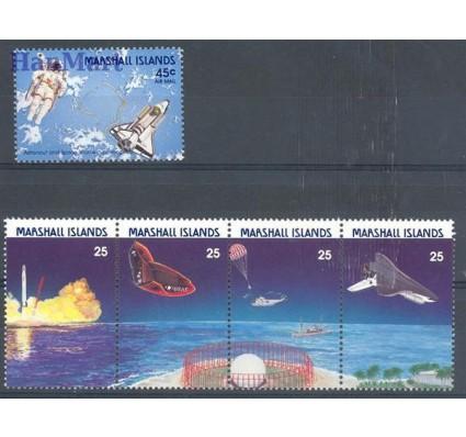 Znaczek Wyspy Marshalla 1988 Mi 199-203 Czyste **