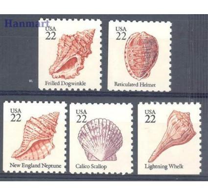 Znaczek USA 1985 Mi 1741-1745D-E Czyste **