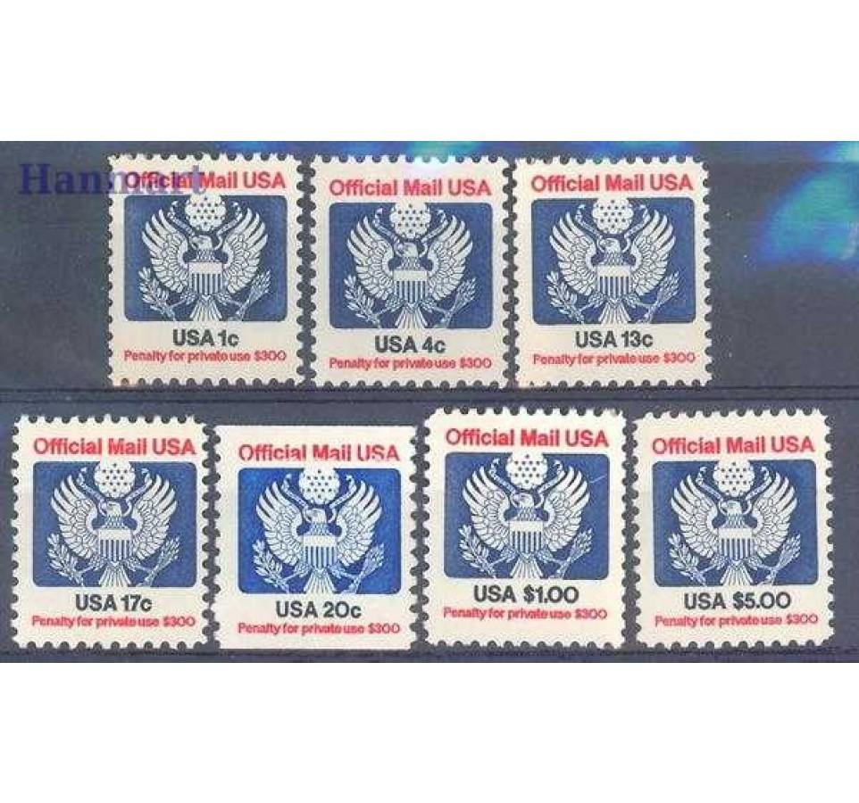 USA 1983 Mi die 99-105 Czyste **