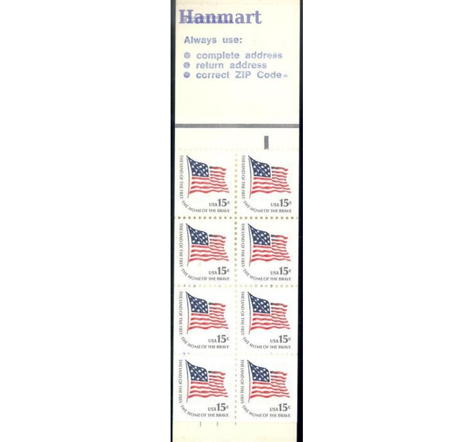 USA 1978 Mi mh O-96 Czyste **