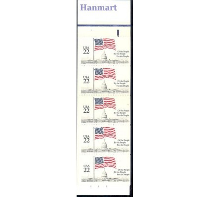 Znaczek USA 1985 Mi mh O-110 Czyste **