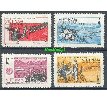 Znaczek Wietnam 1964 Mi 310-313 Czyste **