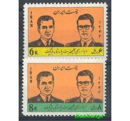Znaczek Iran 1964 Mi 1235-1236 Czyste **