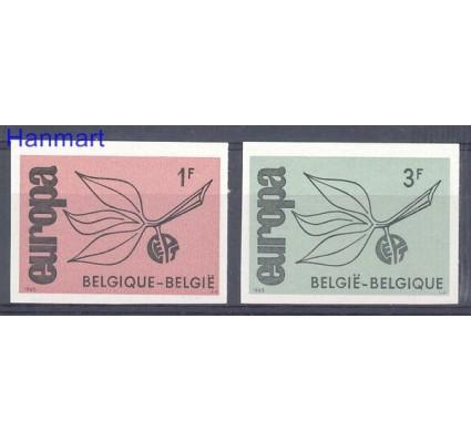 Znaczek Belgia 1965 Mi 1399-1400B Czyste **
