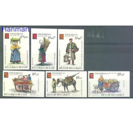 Znaczek Belgia 1975 Mi 1841-1846B Czyste **