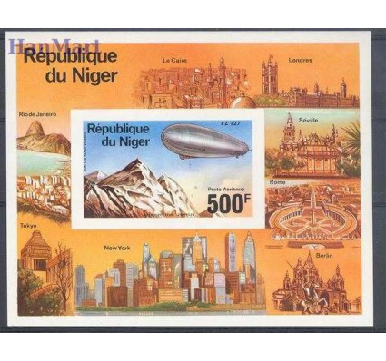 Znaczek Niger 1976 Mi bl 14B Czyste **