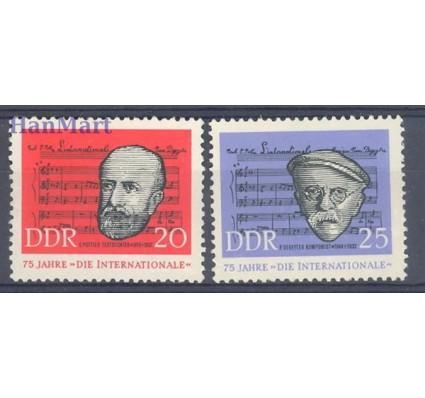 Znaczek NRD / DDR 1963 Mi 966-967 Czyste **