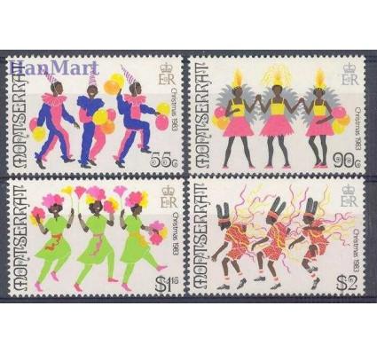 Znaczek Montserrat 1983 Mi 526-529 Czyste **