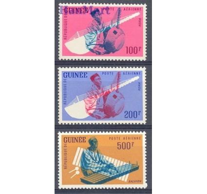 Znaczek Gwinea 1962 Mi 125-127 Czyste **