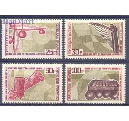 Znaczek Gabon 1969 Mi 333-336 Czyste **